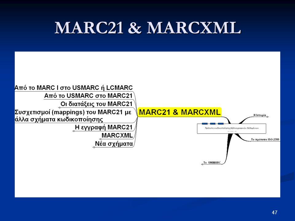 MARC21 & MARCXML