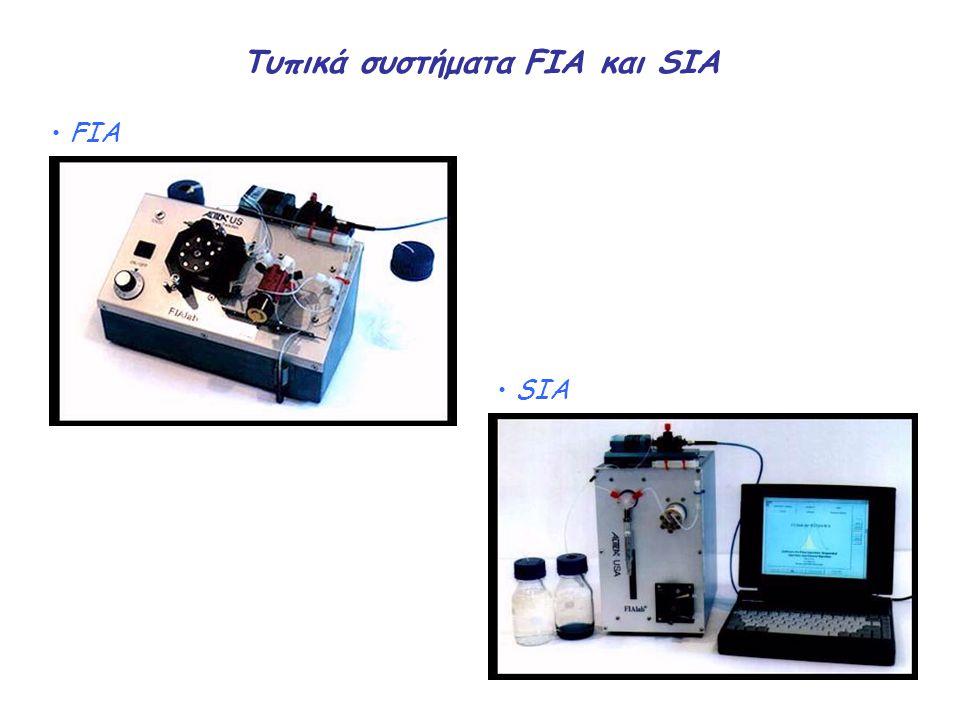 Τυπικά συστήματα FIA και SIA