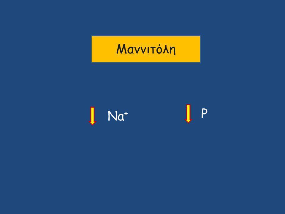 Μαννιτόλη P Na+