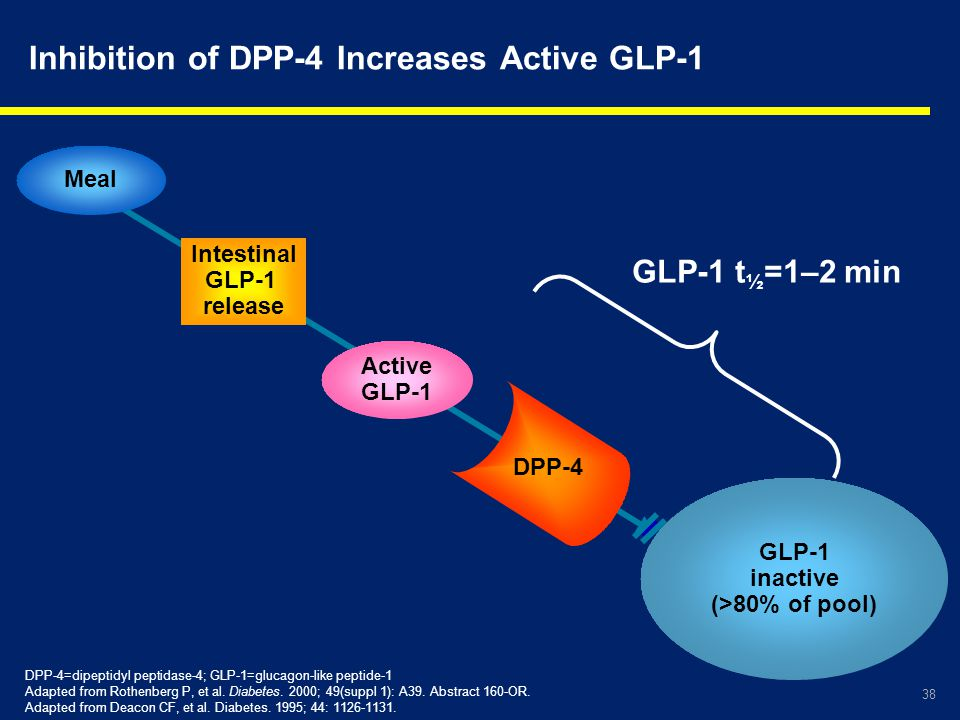 Inhibition of DPP-4 Increases Active GLP-1