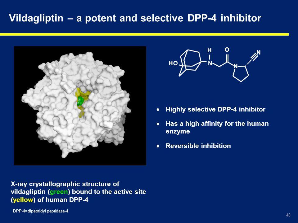Vildagliptin – a potent and selective DPP-4 inhibitor