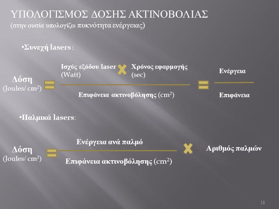 ΥΠΟΛΟΓΙΣΜΟΣ ΔΟΣΗΣ ΑΚΤΙΝΟΒΟΛΙΑΣ