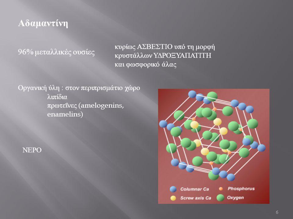 Αδαμαντίνη 96% μεταλλικές ουσίες