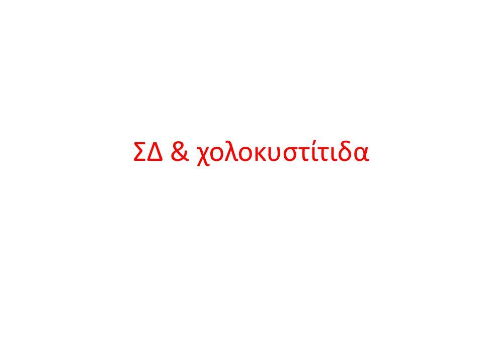 ΣΔ & χολοκυστίτιδα