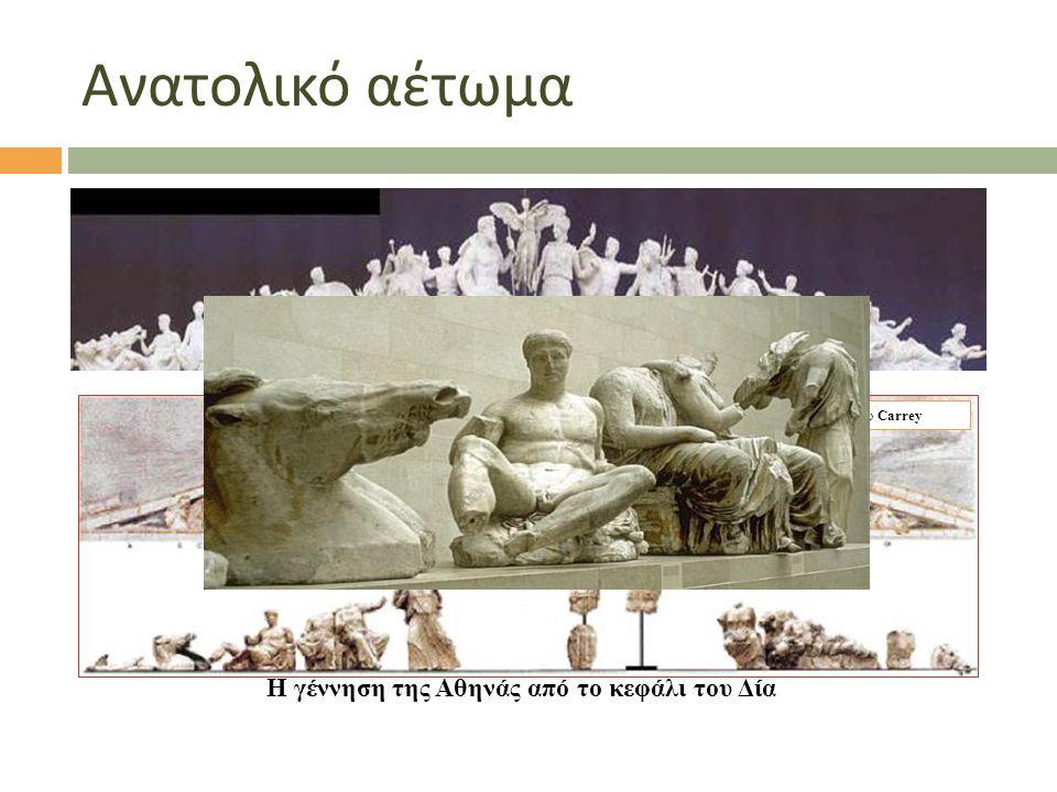 Η γέννηση της Αθηνάς από το κεφάλι του Δία