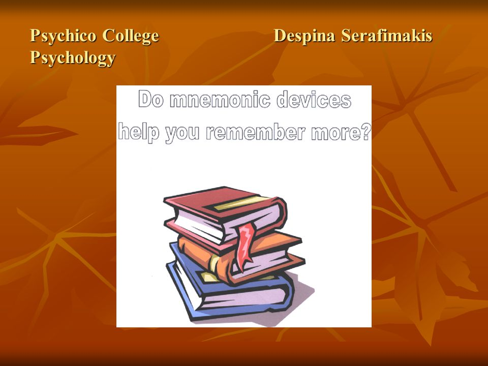 Psychico College Despina Serafimakis Psychology