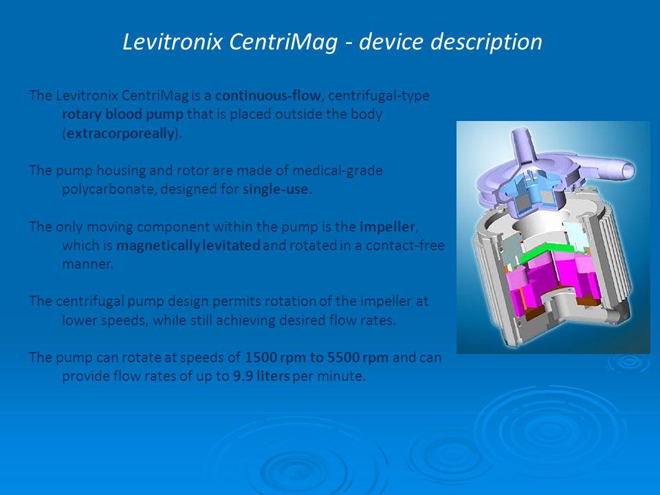 Levitronix CentriMag - device description