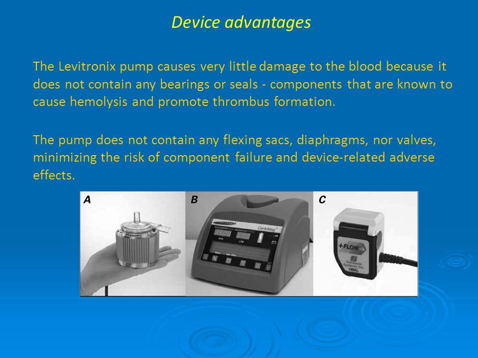 Device advantages
