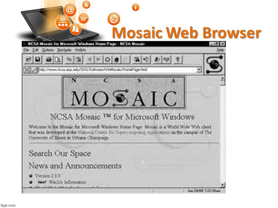 Mosaic Web Browser *