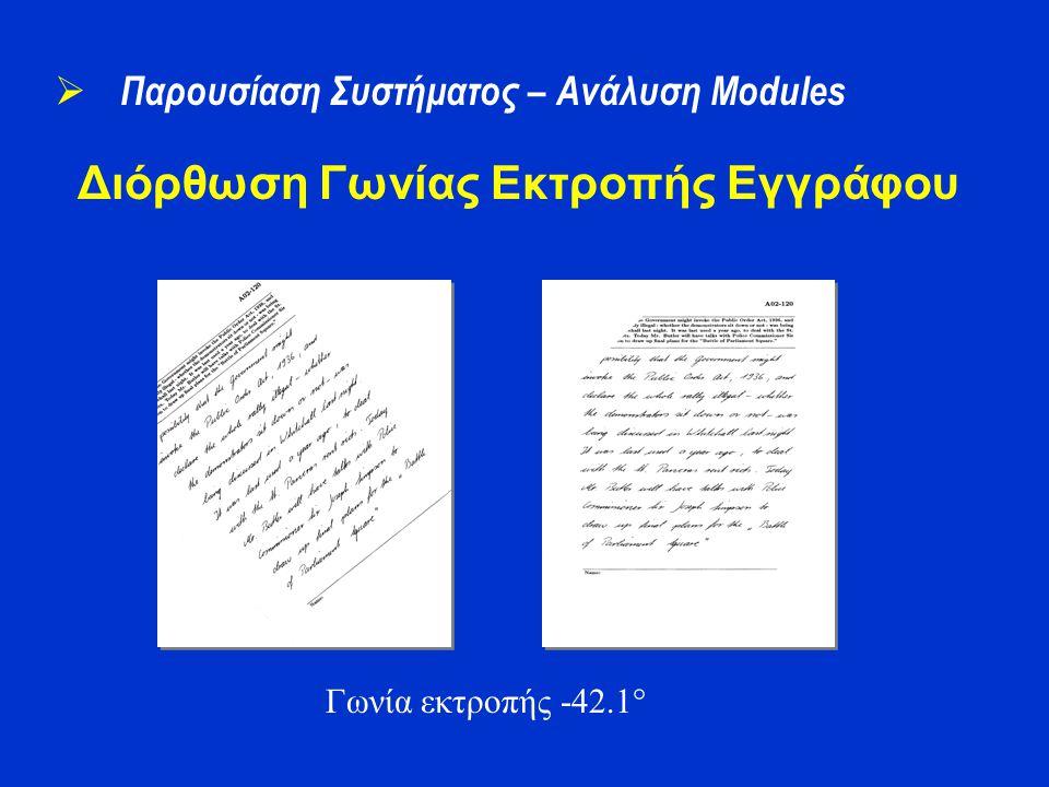 Διόρθωση Γωνίας Εκτροπής Εγγράφου