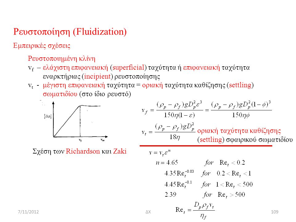 Ρευστοποίηση (Fluidization)