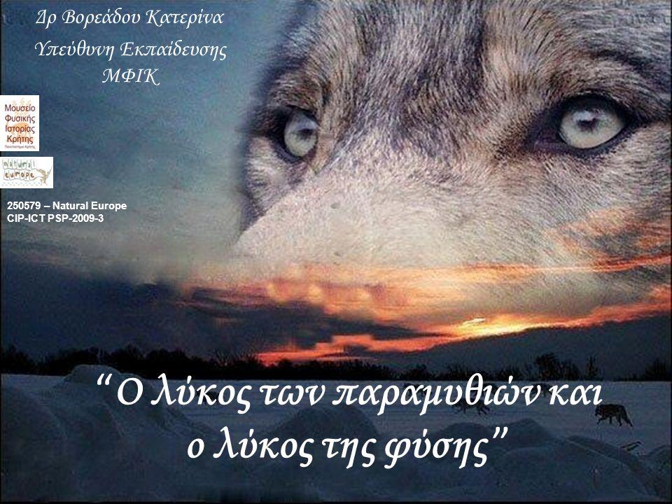 Ο λύκος των παραμυθιών και ο λύκος της φύσης