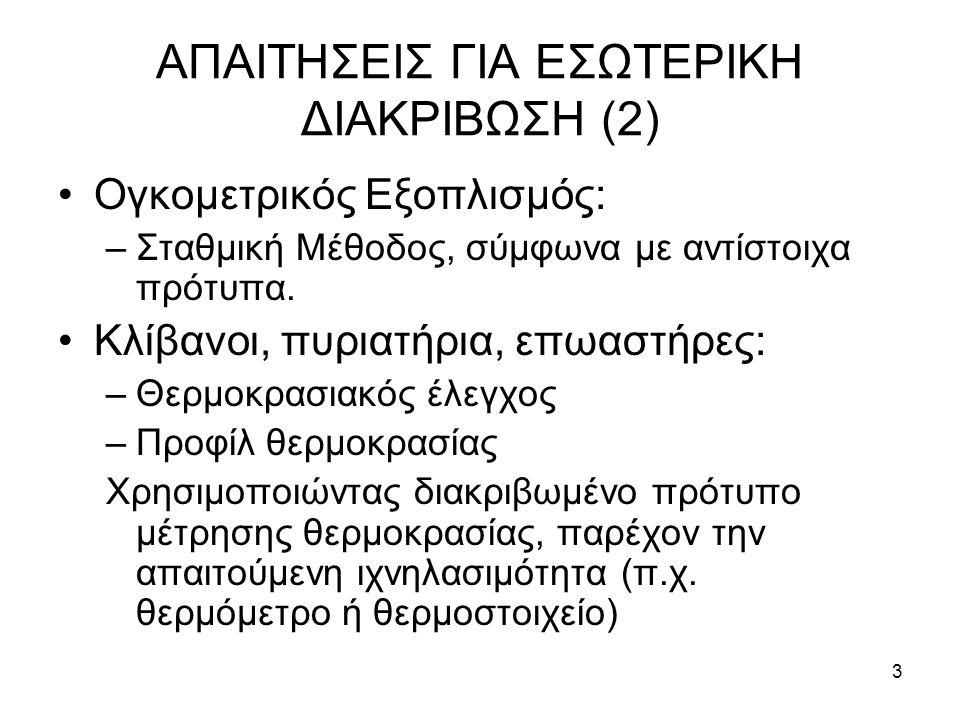 ΑΠΑΙΤΗΣΕΙΣ ΓΙΑ ΕΣΩΤΕΡΙΚΗ ΔΙΑΚΡΙΒΩΣΗ (2)