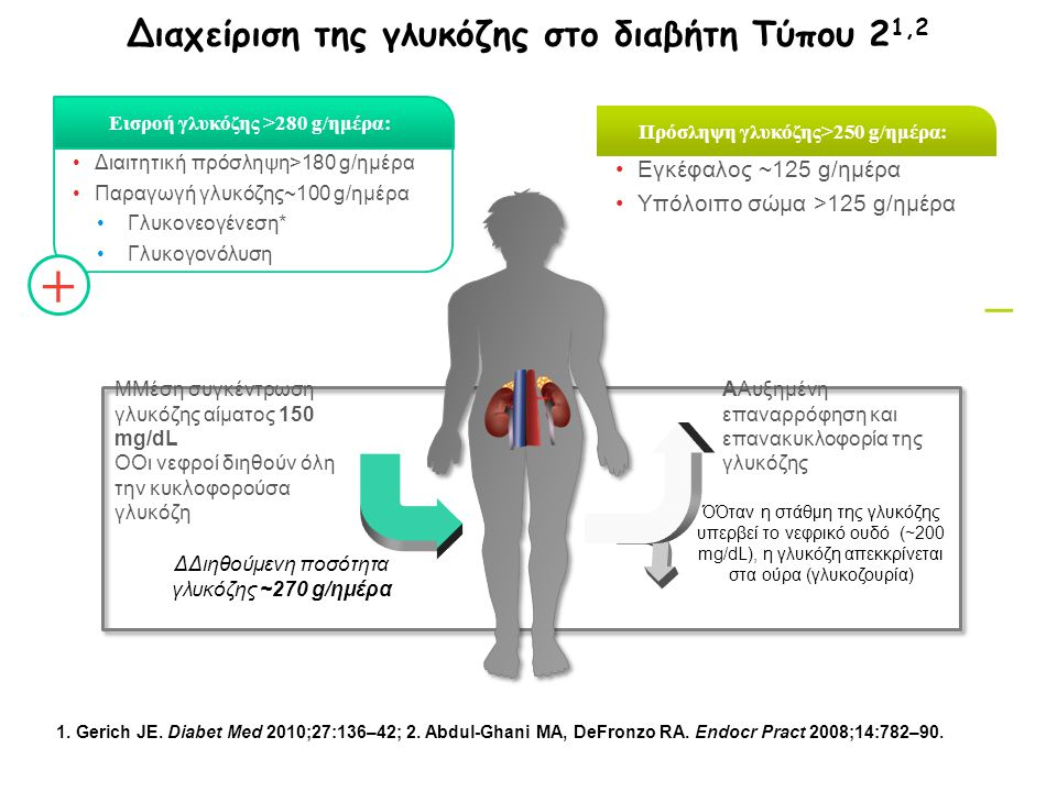 Διαχείριση της γλυκόζης στο διαβήτη Τύπου 21,2