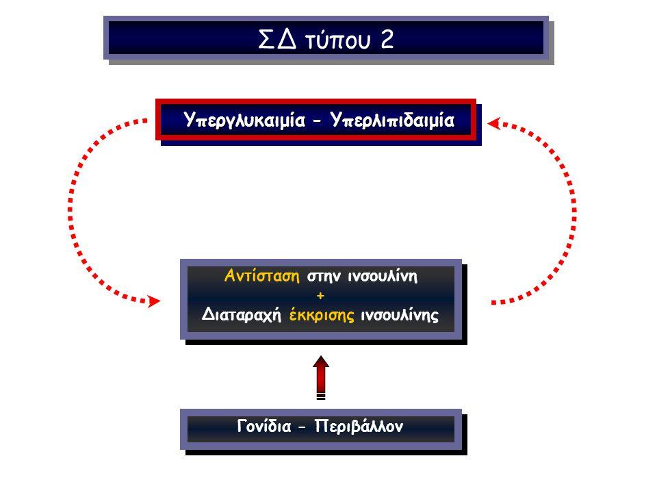 ΣΔ τύπου 2 Υπεργλυκαιμία - Υπερλιπιδαιμία