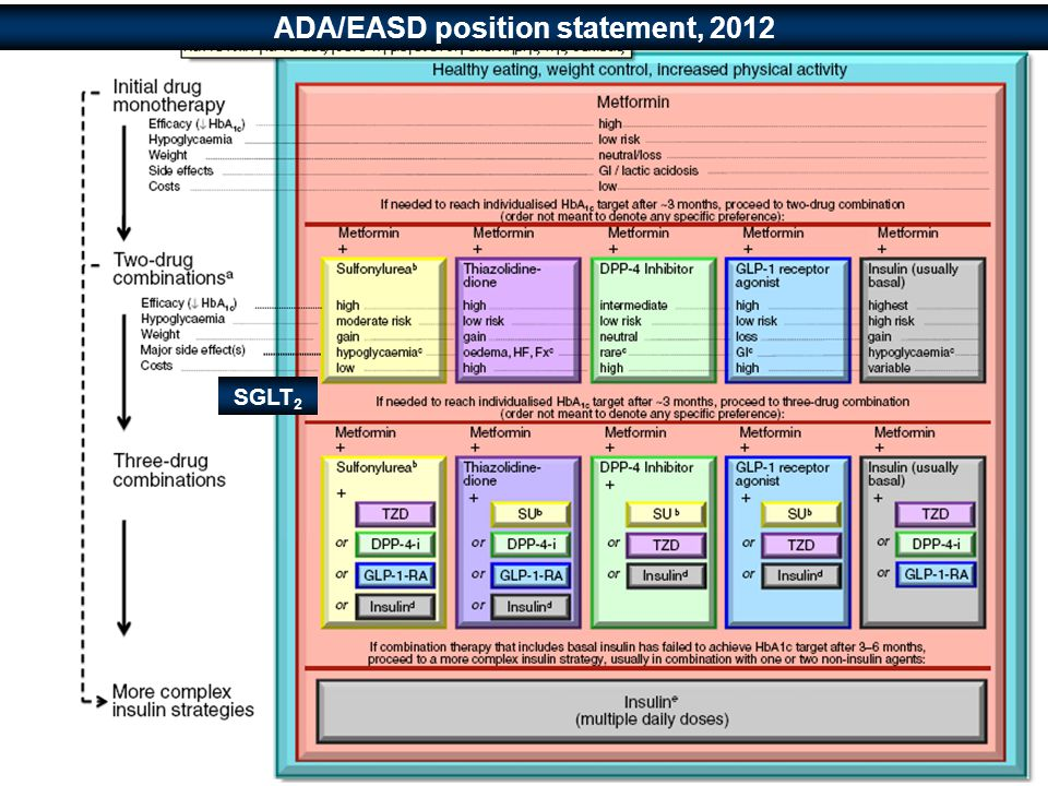 ADA/EASD position statement, 2012