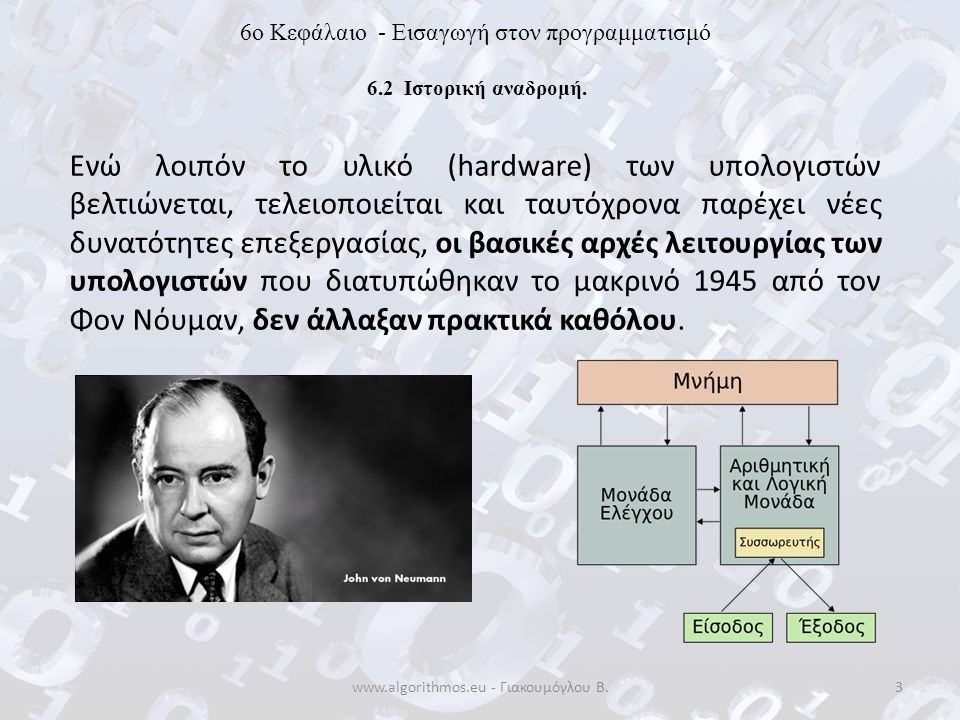 www.algorithmos.eu - Γιακουμόγλου Β.