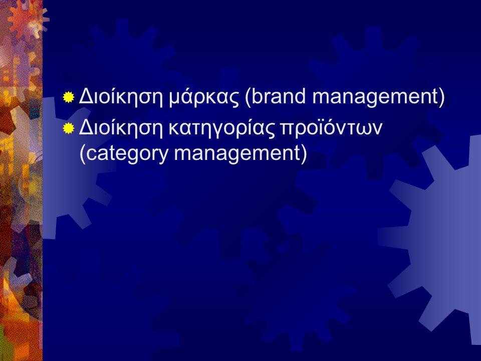Διοίκηση μάρκας (brand management)