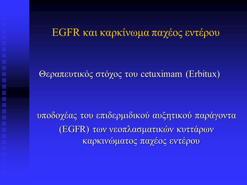 EGFR και καρκίνωμα παχέος εντέρου