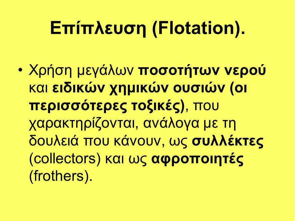 Επίπλευση (Flotation).