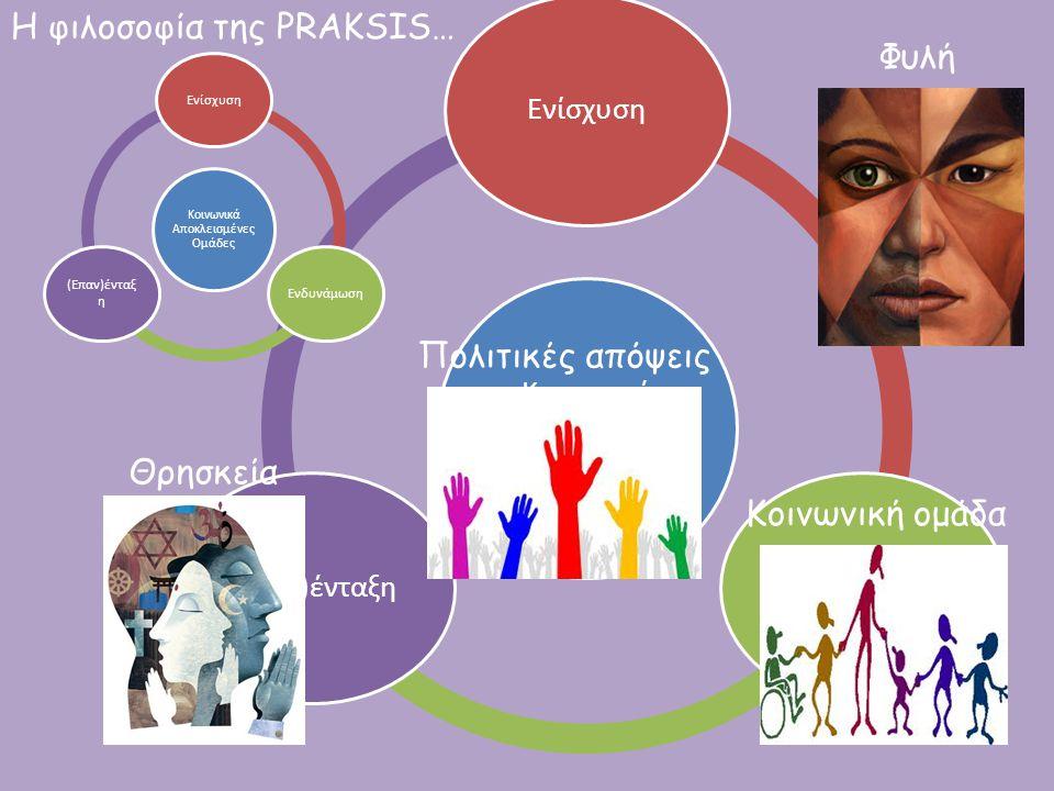 Η φιλοσοφία της PRAKSIS… Φυλή