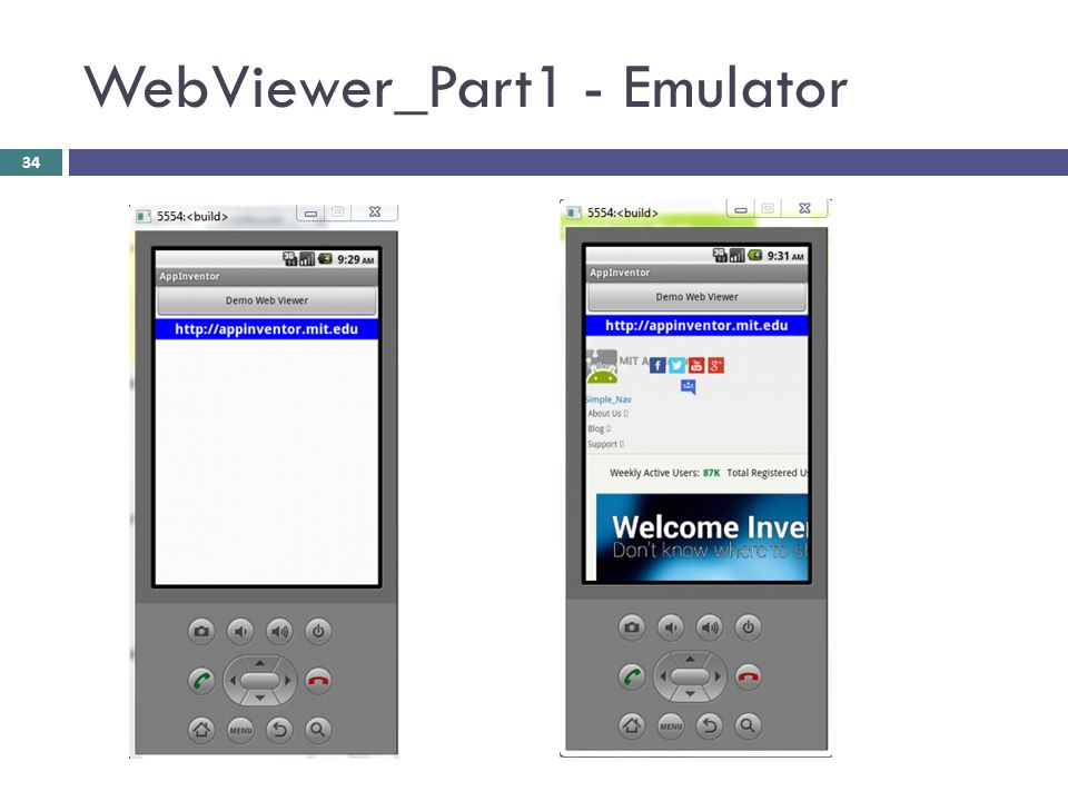 WebViewer_Part1 - Emulator
