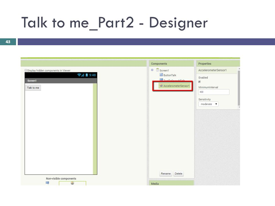 Talk to me_Part2 - Designer