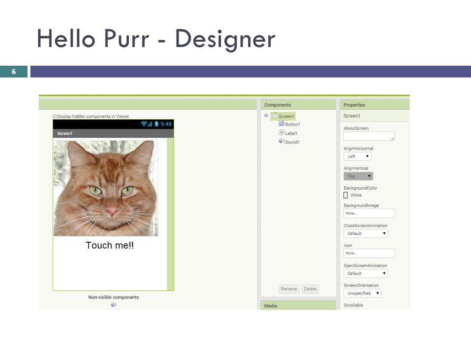 Hello Purr - Designer