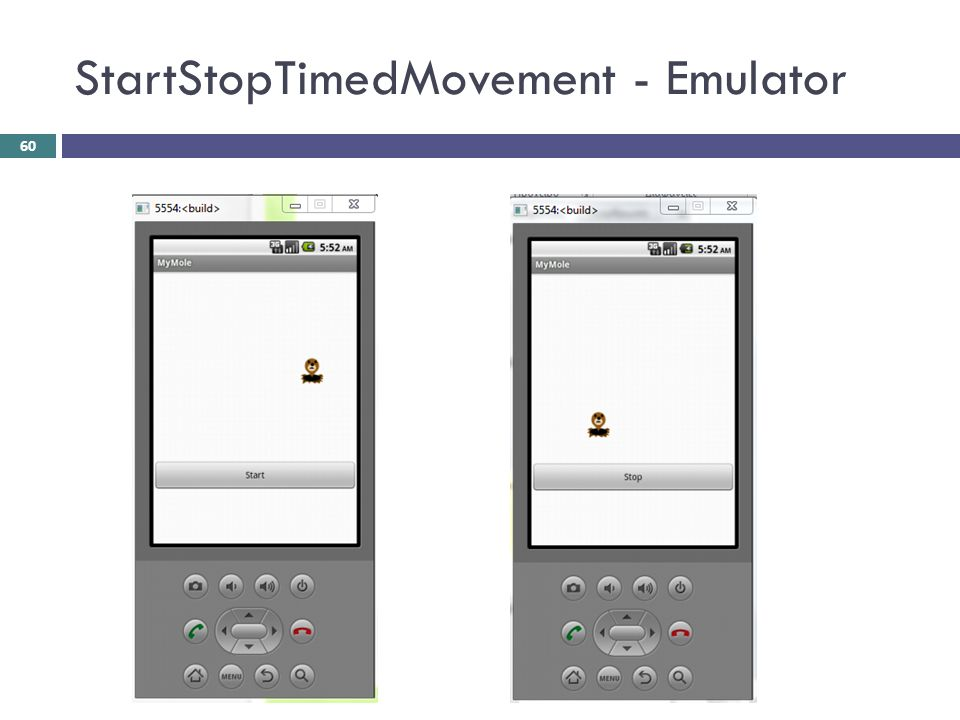 StartStopTimedMovement - Emulator