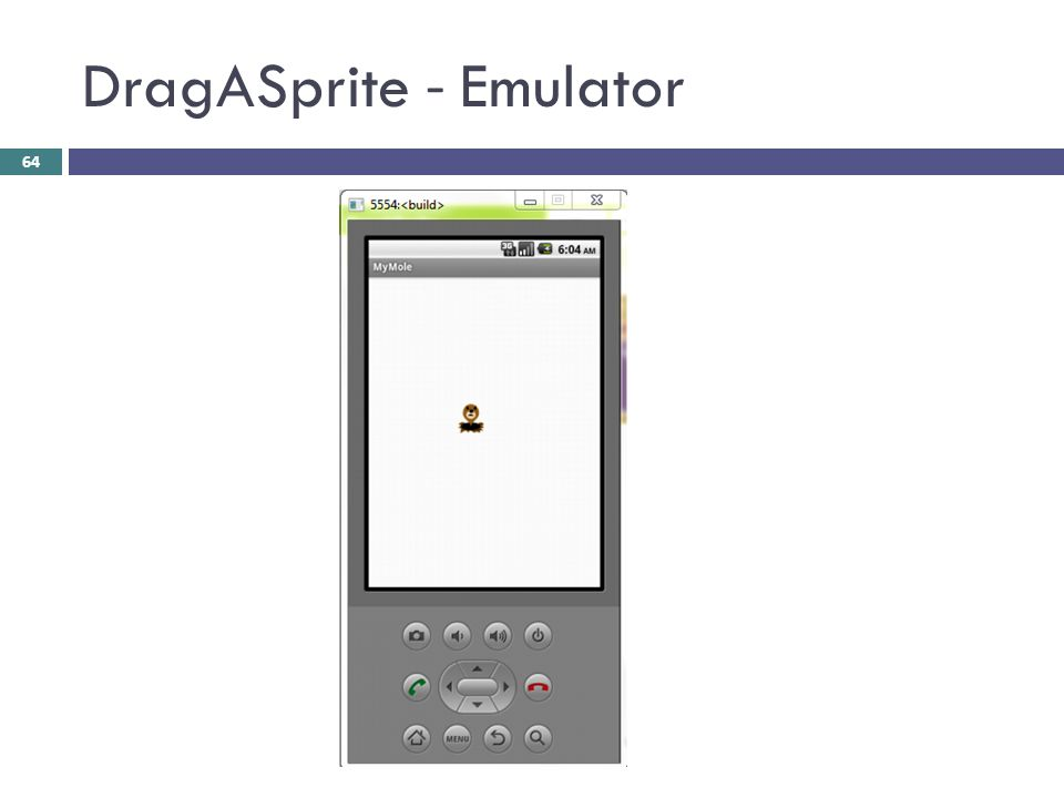 DragASprite - Emulator