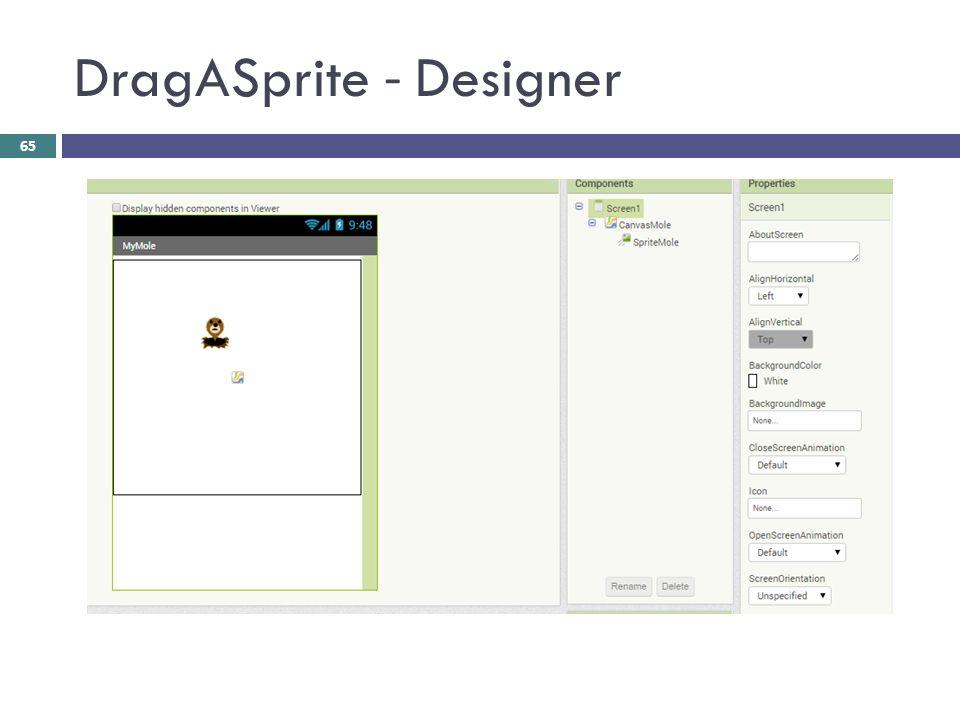 DragASprite - Designer