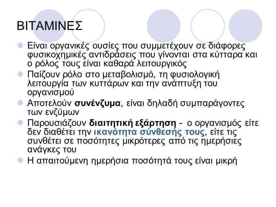 ΒΙΤΑΜΙΝΕΣ