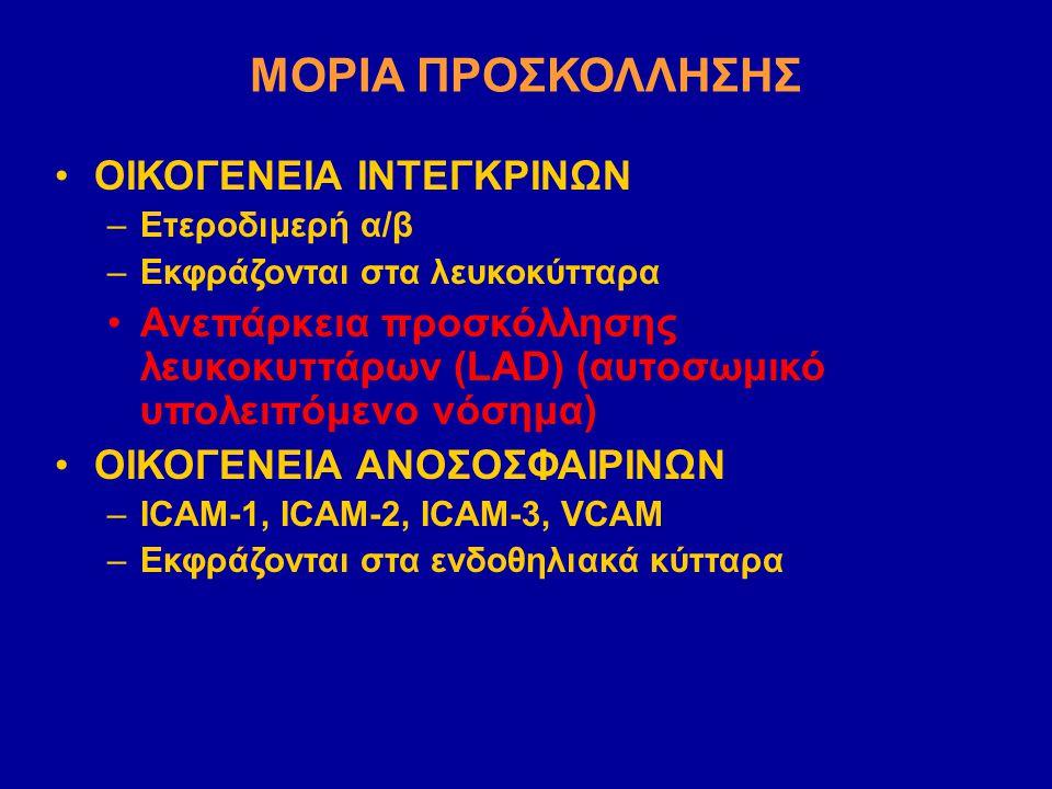 ΜΟΡΙΑ ΠΡΟΣΚΟΛΛΗΣΗΣ ΟΙΚΟΓΕΝΕΙΑ ΙΝΤΕΓΚΡΙΝΩΝ