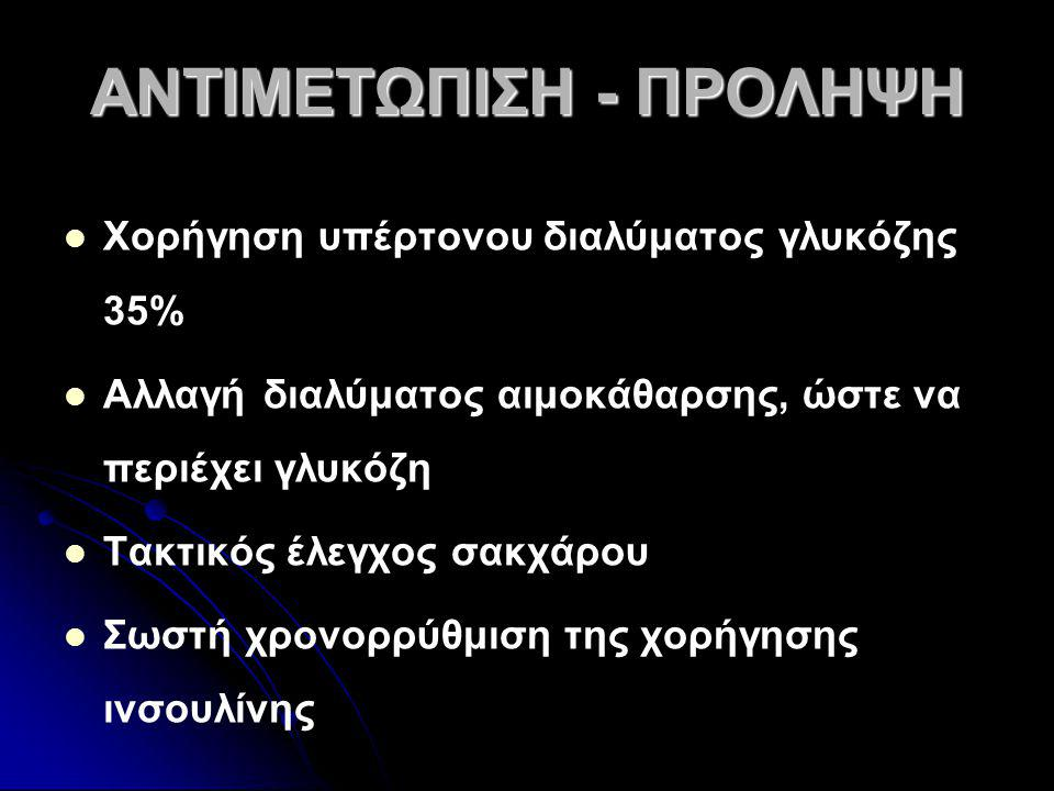 ΑΝΤΙΜΕΤΩΠΙΣΗ - ΠΡΟΛΗΨΗ
