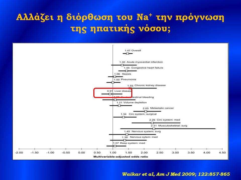 Αλλάζει η διόρθωση του Na+ την πρόγνωση της ηπατικής νόσου;