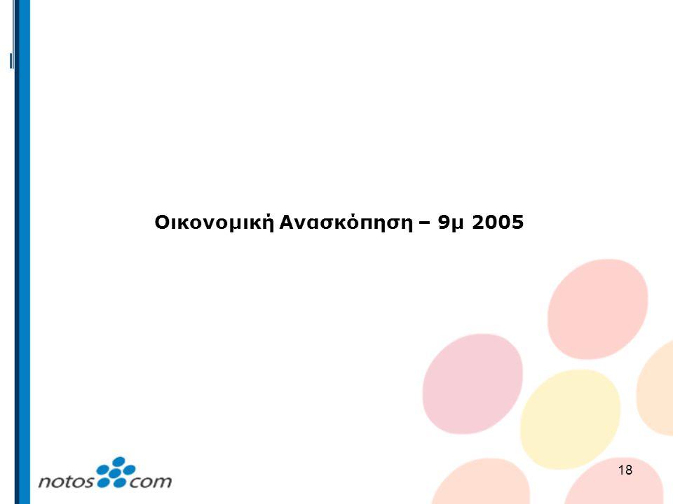 Οικονομική Ανασκόπηση – 9μ 2005
