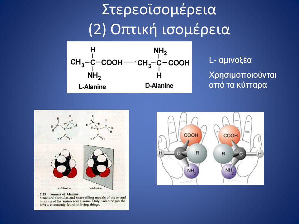 Στερεοϊσομέρεια (2) Οπτική ισομέρεια