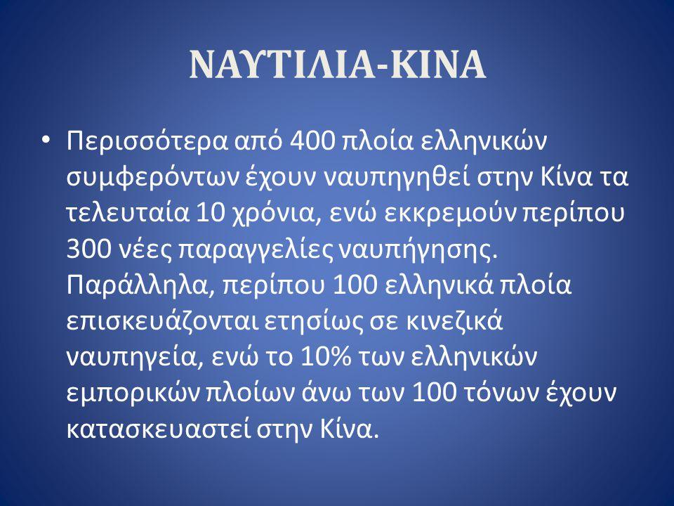 ΝΑΥΤΙΛΙΑ-ΚΙΝΑ