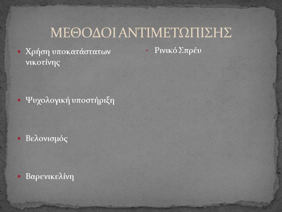 ΜΕΘΟΔΟΙ ΑΝΤΙΜΕΤΩΠΙΣΗΣ