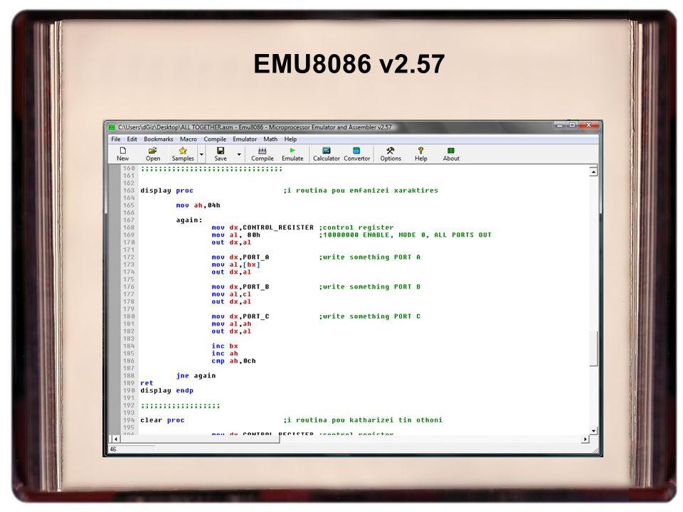EMU8086 v2.57