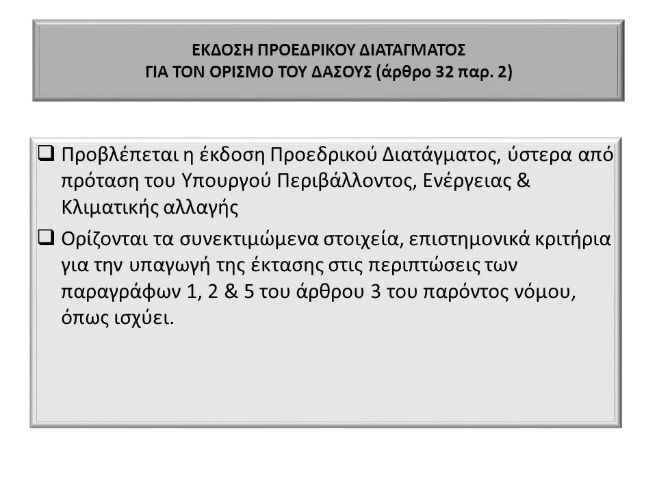ΕΚΔΟΣΗ ΠΡΟΕΔΡΙΚΟΥ ΔΙΑΤΑΓΜΑΤΟΣ