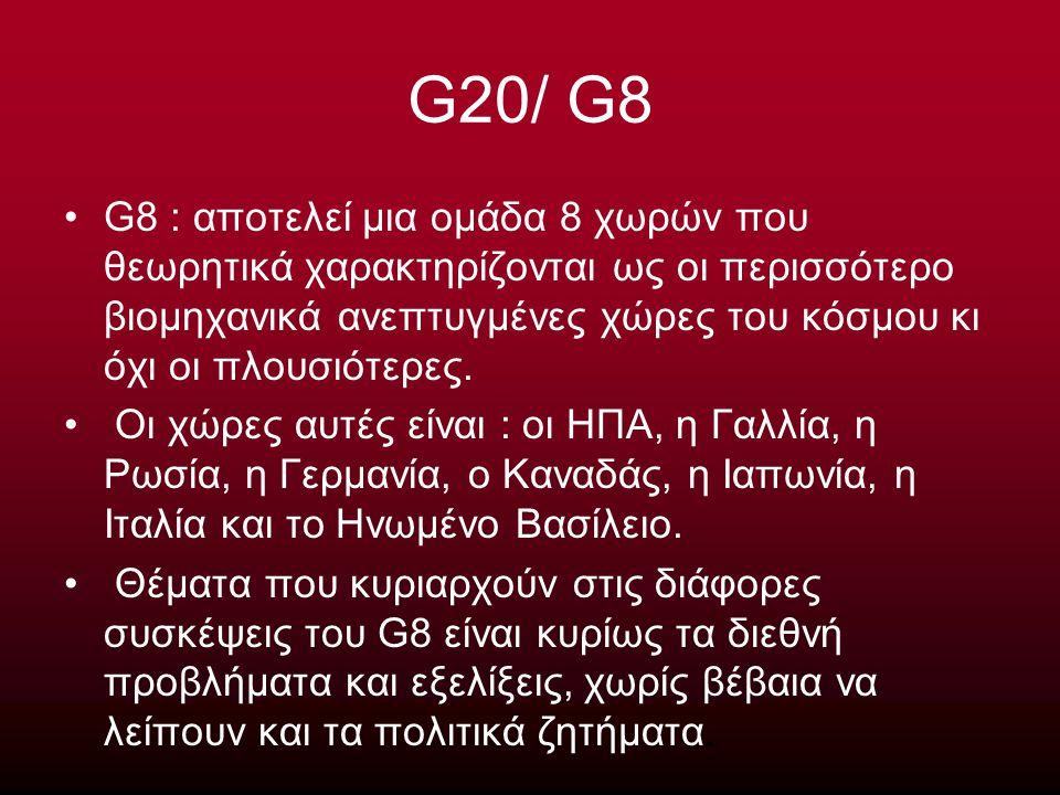 G20/ G8