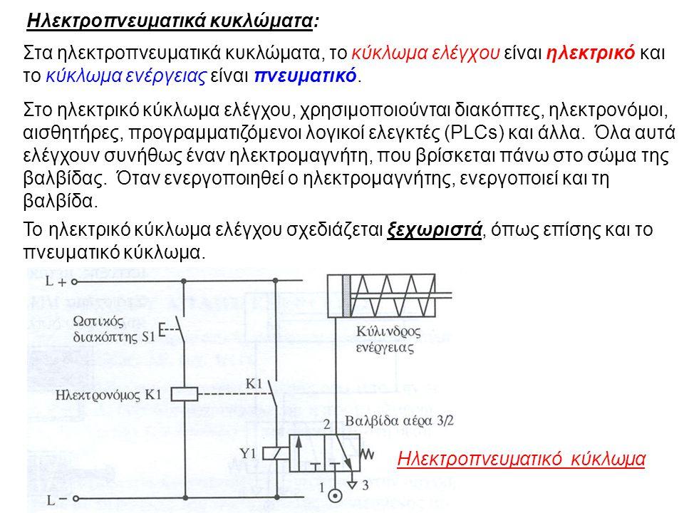 Ηλεκτροπνευματικά κυκλώματα: