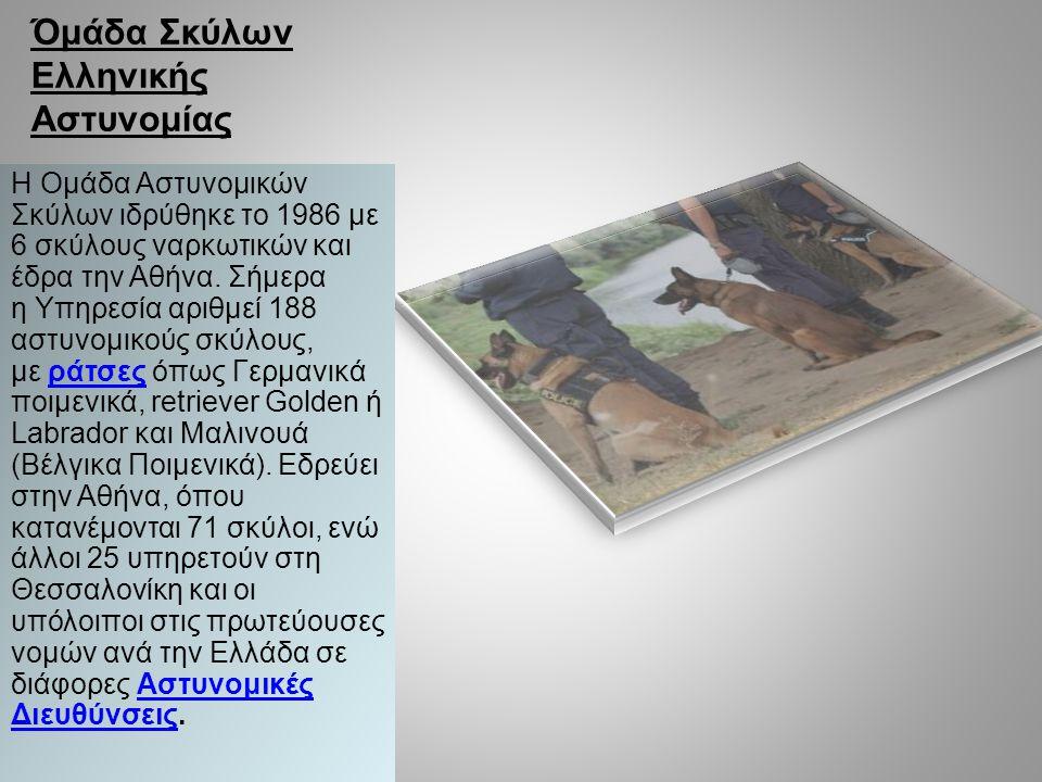Όμάδα Σκύλων Ελληνικής Αστυνομίας