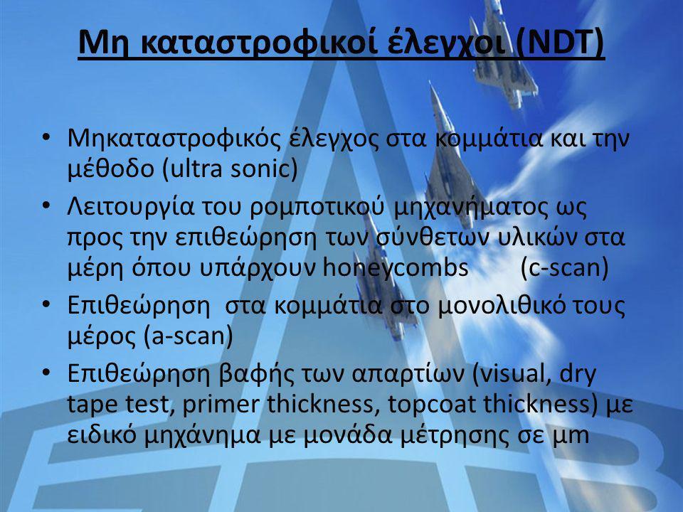 Μη καταστροφικοί έλεγχοι (NDT)