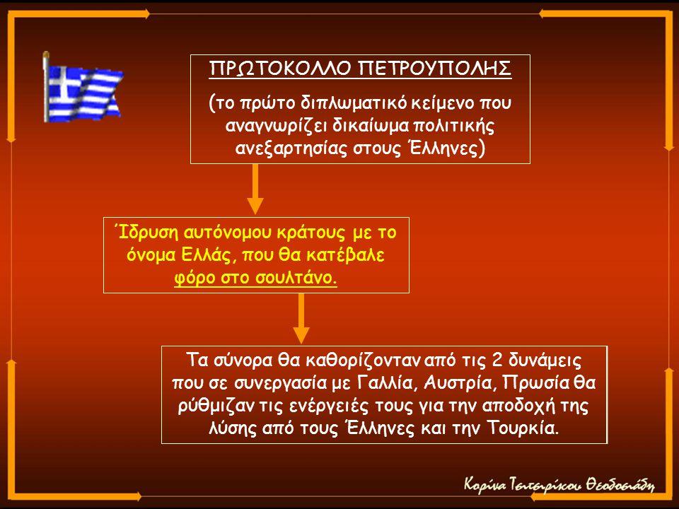 ΠΡΩΤΟΚΟΛΛΟ ΠΕΤΡΟΥΠΟΛΗΣ