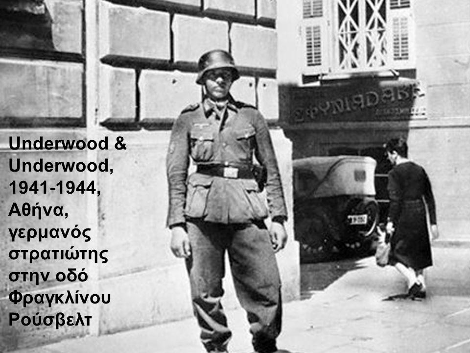 Underwood & Underwood, 1941-1944,