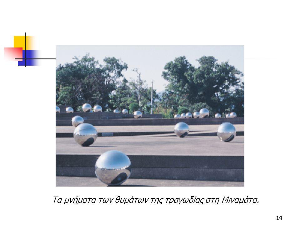 Τα μνήματα των θυμάτων της τραγωδίας στη Μιναμάτα.