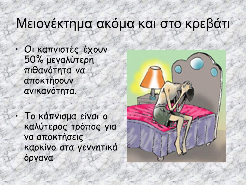 Μειονέκτημα ακόμα και στο κρεβάτι