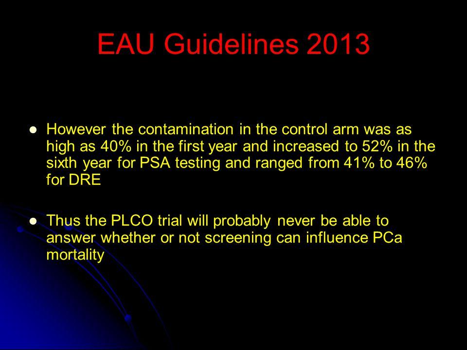 EAU Guidelines 2013